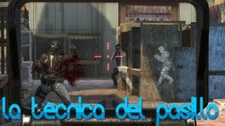 LA TÉCNICA DEL PASILLO!! - Black ops 2 con Willy y Sara