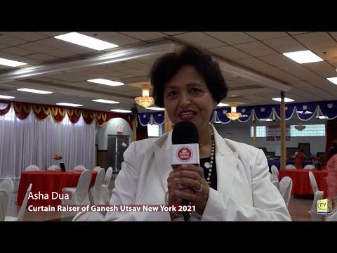 Press Conference - 4th Biggest Ganesh Utsav in New York 2021 - Gujrati Samaj of New York - Queens