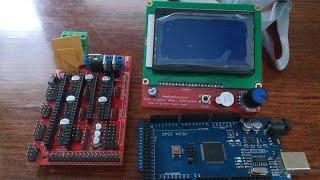 Подключение дисплея 12864 LCD для 3D принтера или настройка Marlin для LCD12864 Ramps 1.4
