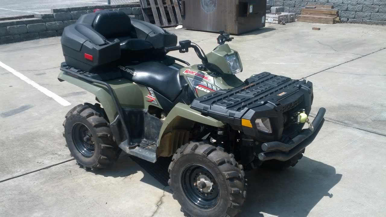 For sale 2005 polaris sportsman 400 youtube sciox Gallery