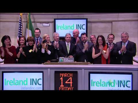 New York Stock Exchange Hosts Ireland Day