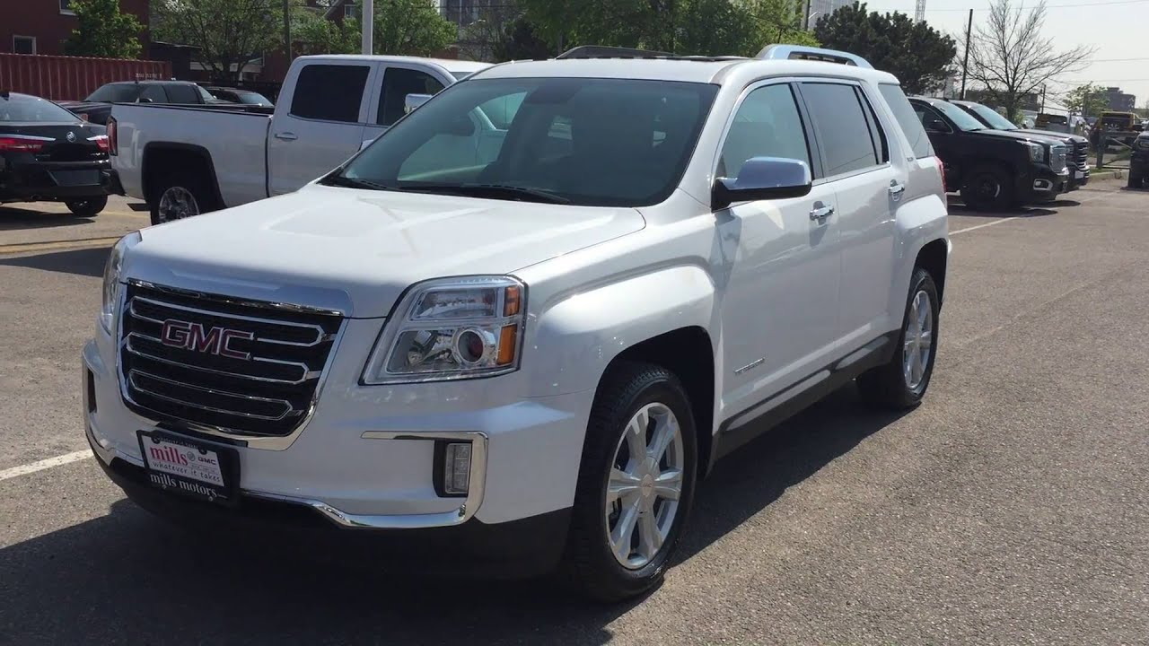 Gmc Terrain Slt >> 2016 GMC Terrain SLT AWD White Oshawa ON Stock# 161006 ...