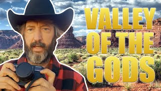VALLEY OF THE GODS -  UTAH - TOM GREEN - VAN LIFE