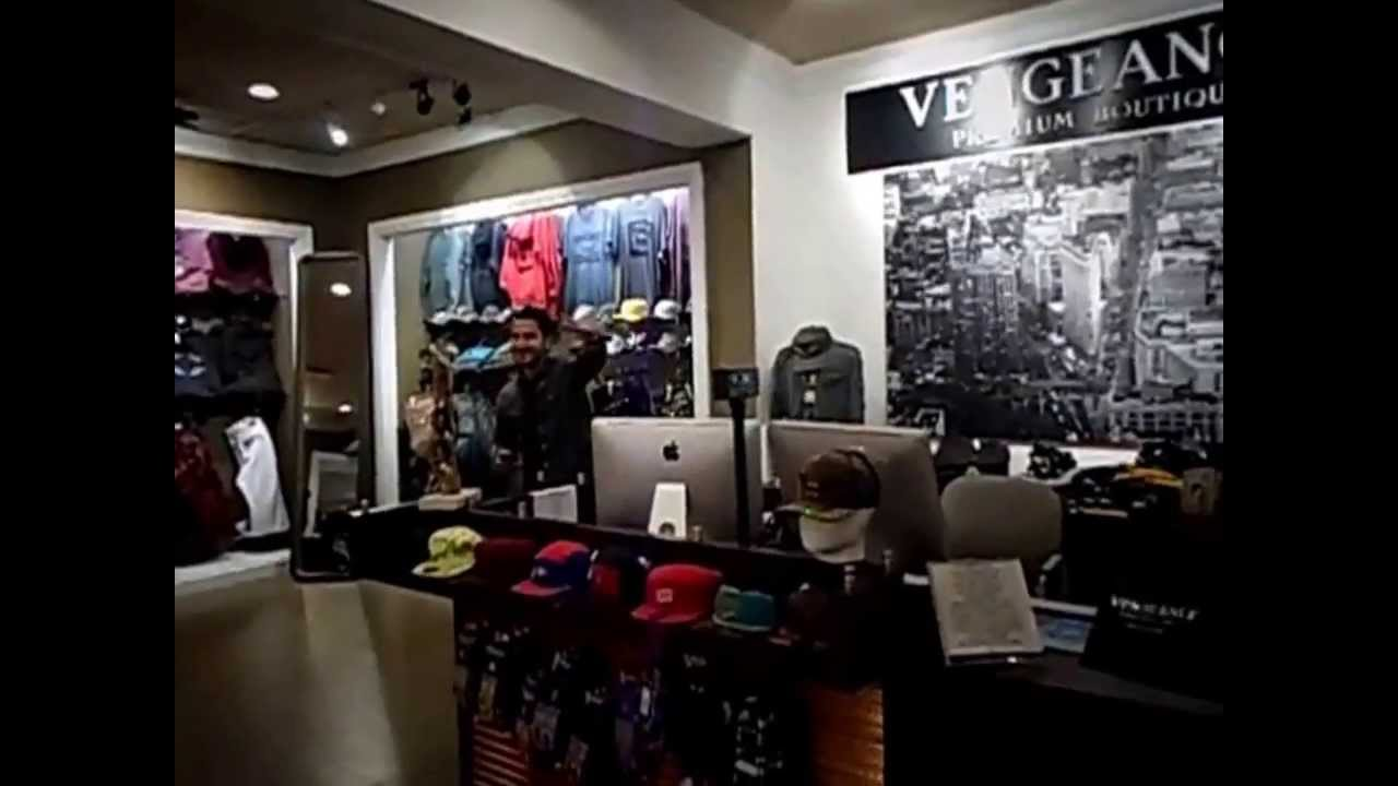Vengeance clothing store tri county mall