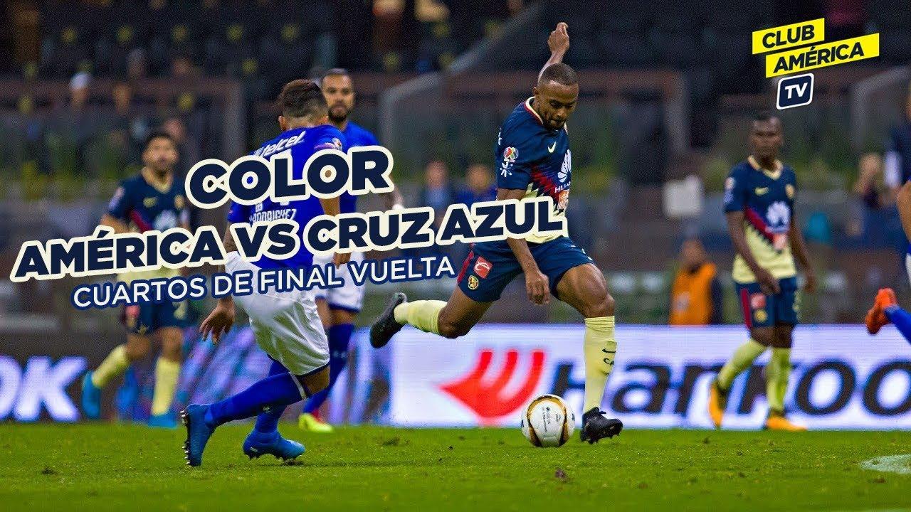 Color America Vs Cruz Azul Cuartos De Final Vuelta Apertura 2017