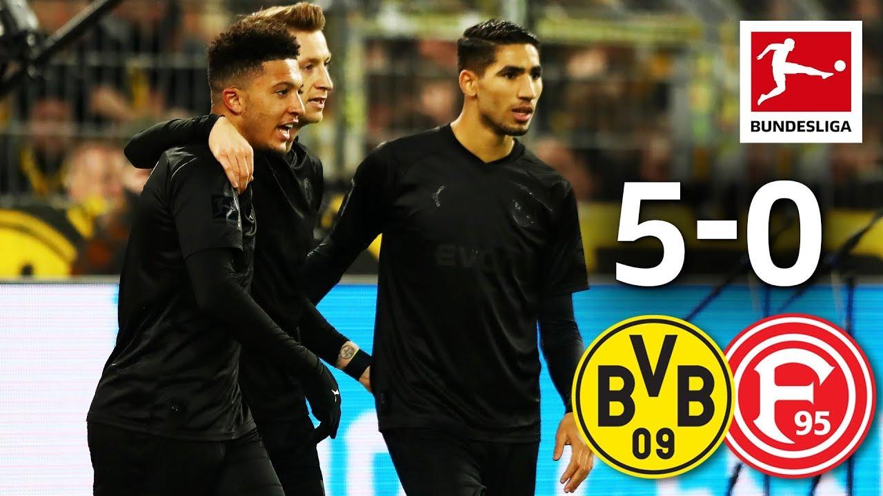 The Reus Sancho Show Borussia Dortmund Vs Fortuna Dusseldorf
