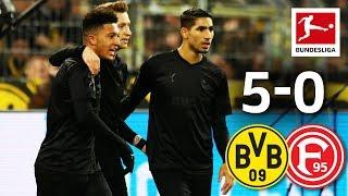 Marco reus and jadon sancho - two goals one assist each against düsseldorf► sub now: https://redirect.bundesliga.com/_bwcsit felt easy for borussia dortm...