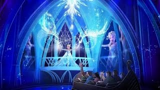 frozen ever after ride details artwork announced for walt disney world in 2016