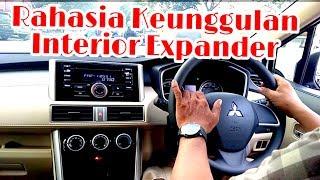Mitsubishi Xpander Exceed Putih/White Review Interior - Kenyamanan Di Dalam Kabin Lebar