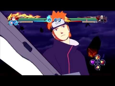 Yahiko Complete Moveset + Link (Yahiko & Naruto Jounin - No Adult)