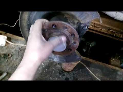 Опель Зафира, ремонт тормозной системы (зад)