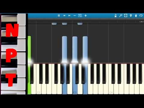 Ulay, Oh Piano Tutorial - How to play Ulay Oh on piano - How I Became The Bomb
