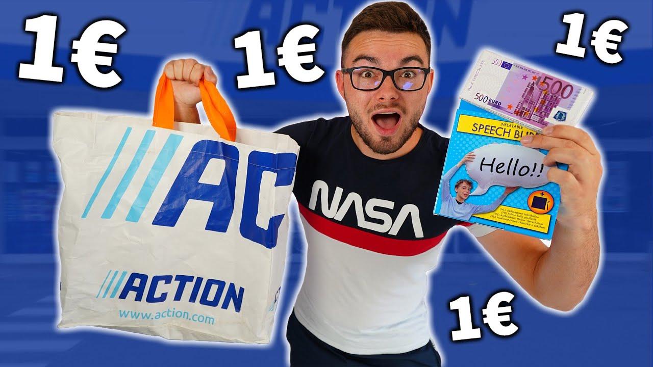 """J'AI ACHETÉ DES OBJETS A """"1€"""" CHEZ ACTION !"""