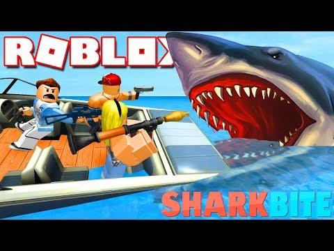 Roblox | LẬP TIỂU ĐỘI ĐI SĂN CÁ MẬP KHỔNG LỒ - SharkBite | KiA Phạm