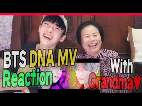 BTS - DNA MV Reaction with my Grandma~!
