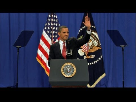 Barack Obama Afghanistan Speech - West Point 2009