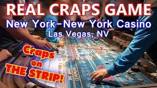 REAL Craps Game - New York-New York Casino, Las Vegas, NV - Live Craps #12 - Inside the Casino