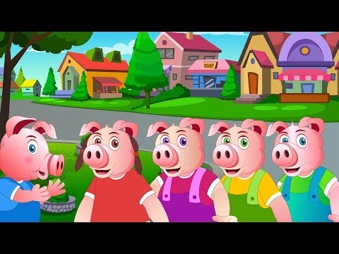 This Little Piggy   Nursery Rhymes For Kids   Cartoons For Children by Kids Tv