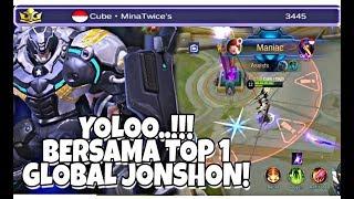 YOLOOO Bersama Top 1 Global Jonshon GG Parah!  MLBB
