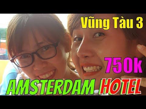 Lý Hương TV Vũng Tàu 3 - 750k / phòng Khách sạn AMSTERDAM