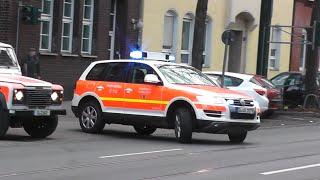 [STRASSENBAHNUNFALL] Einsatzfahrten zum Unfall in Düsseldorf