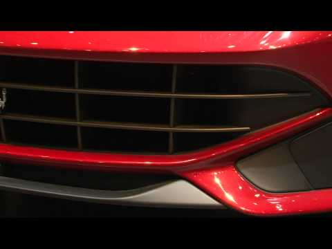 Ferrari F12 Berlinetta debut press conference at Geneva Motor Show