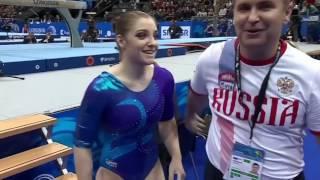 Aliya Mustafina - European Championships 2016 BB EF