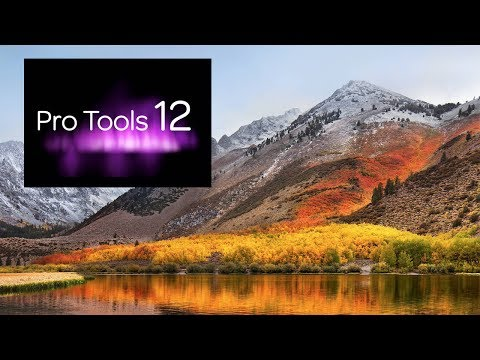 High Sierra And Pro Tools