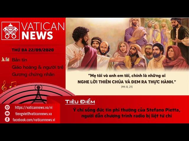 Radio: Vatican News Tiếng Việt thứ Ba ngày 22.09.2020