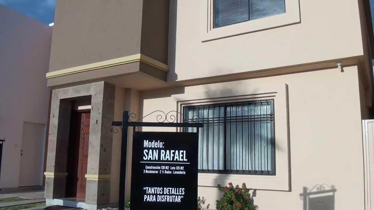 San Marcos Residencial. Casas modelo. Espacios para crecer en ...