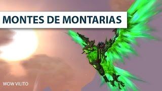 Montarias obtidas por conquistas - Montes de Montarias