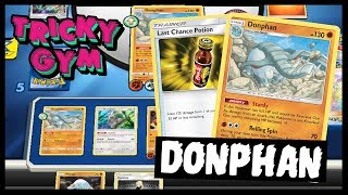 Donphan / Last Chance Potion! Rogue Deck PTCGO Gameplay