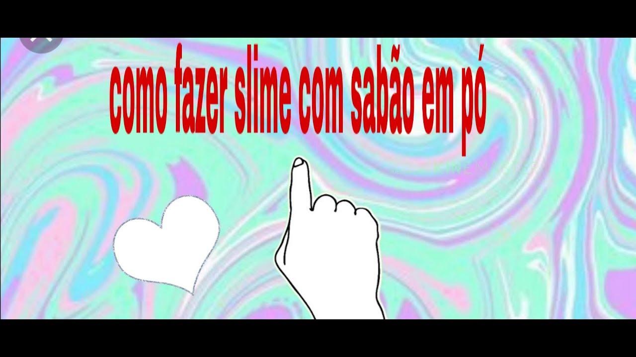 Slime de pasta de dente e sabão em pó - YouTube 50dcb41f4c267