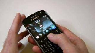 BlackBerry Curve 9360 Unboxing & First Video Look