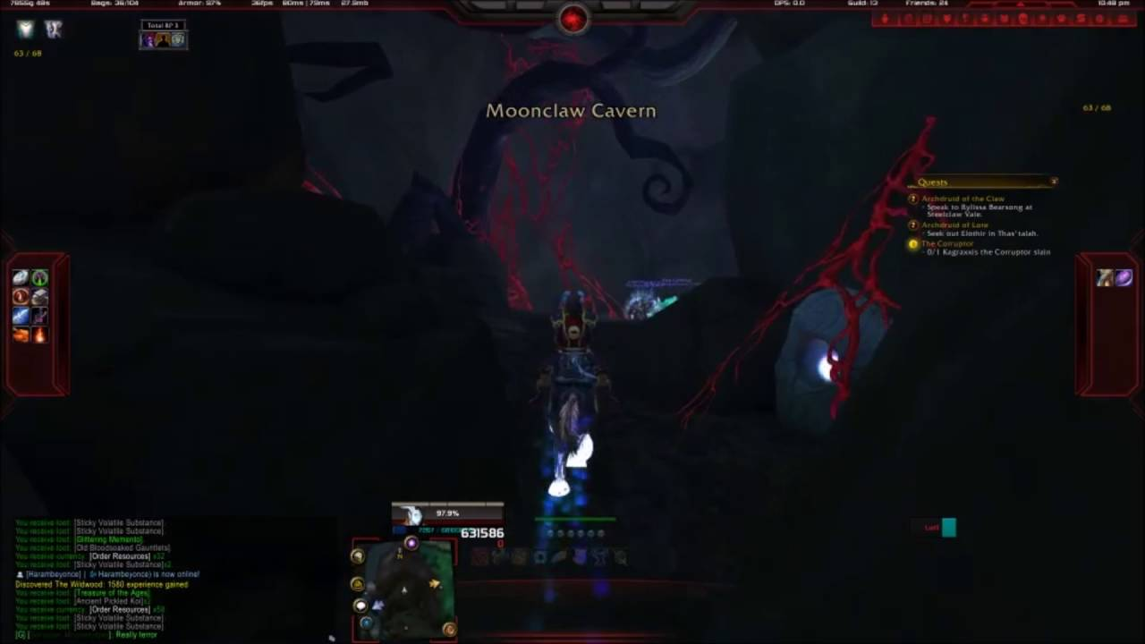 Moonclaw Cavern Entrance