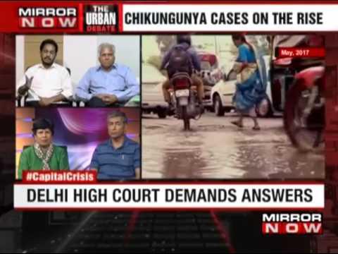 High Court raps civic bodies on Dengue in Delhi- Arpit Bhargava on MIRRORNOW