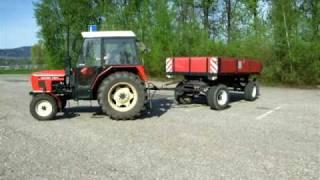Traktor škola - Zetor 7011
