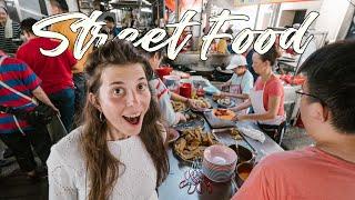 Wir testen STREET FOOD in KUALA LUMPURS CHINATOWN -