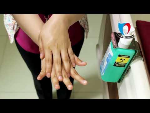 Cuci tangan dengan antiseptik (handrub) yang benar menurut WHO