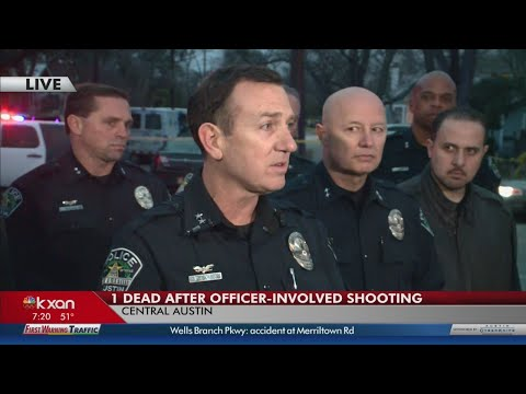 Police share details of officer-involved shooting investigation