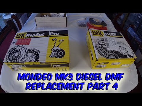 Part 4 Ford Mondeo Mk 3 Dual Mass Flywheel Failure Diesel LUK Replacement