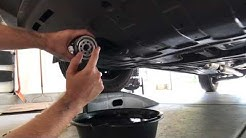 How to change the oil in a Hyundai Tucson.