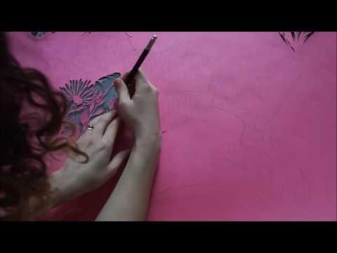 Papercut artist from Ukraine
