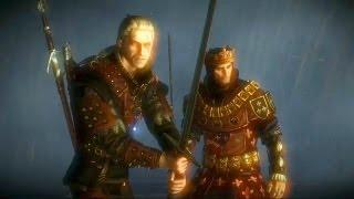 Geralt and King Foltest Fight Together: Aryan La Valette Surrenders (Witcher 2 | Castle)