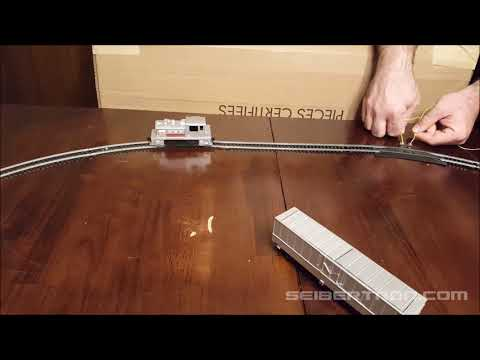 Demonstration Video of Transformers Tyco Train set 181012a