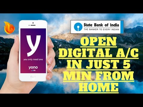 SBI YONO - OPEN AN ACCOUNT IN JUST 5 MIN - 2018