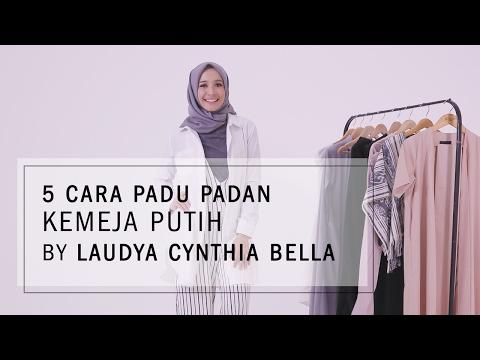 Cara Padu Padan Kemeja Putih By Laudya Cynthia Bella