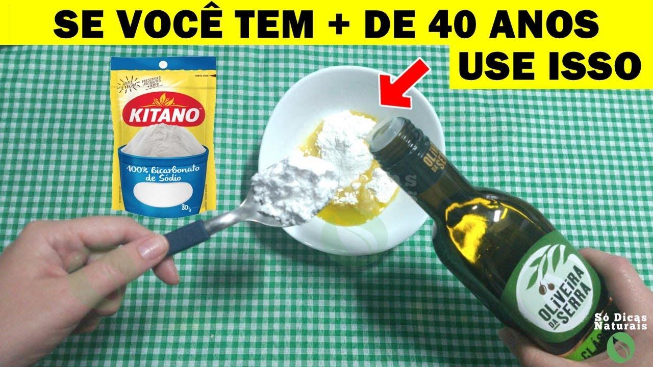 Nao Use Bicarbonato Com Azeite De 1 Vez Por Dia Porque Tira