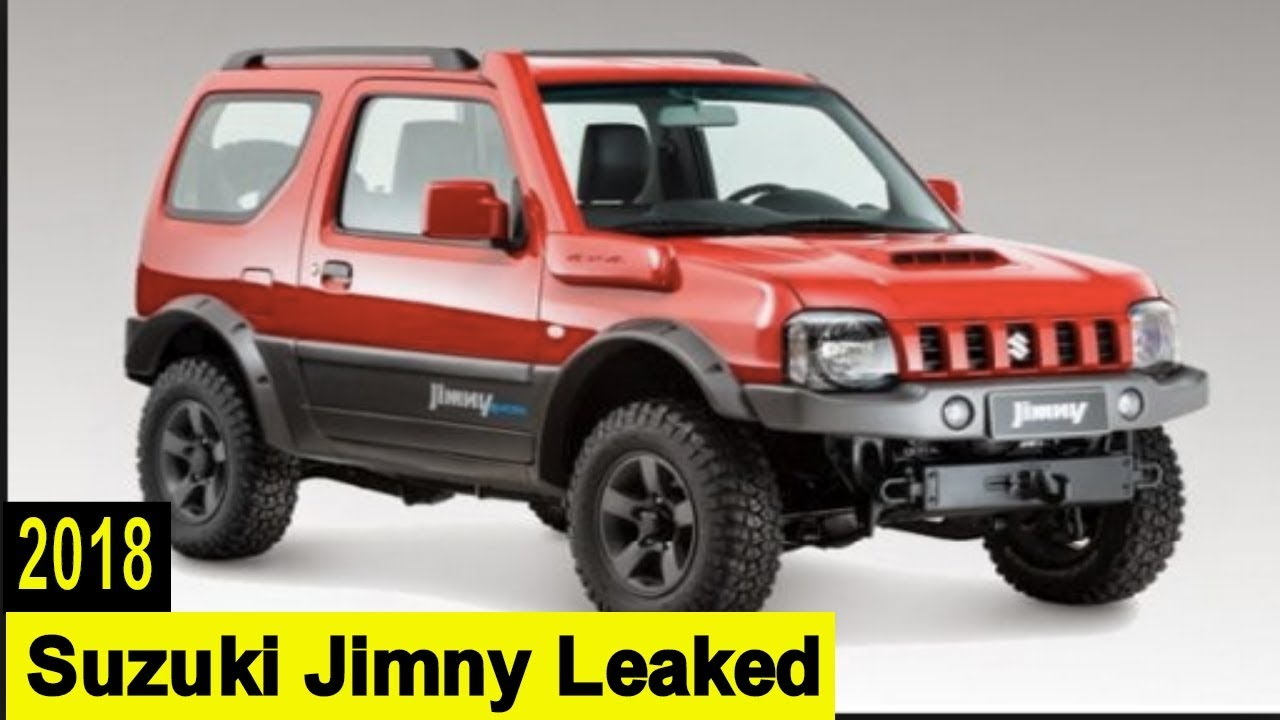 2018 suzuki jimny usa. brilliant suzuki 2018 suzuki jimny leaked images and spy shots emerge online throughout suzuki jimny usa y