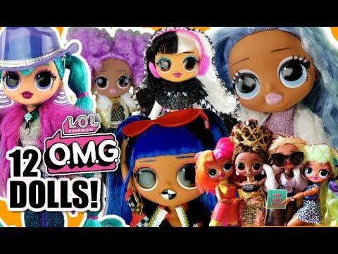 LOL Surprise OMG Fashion Dolls Full Collection